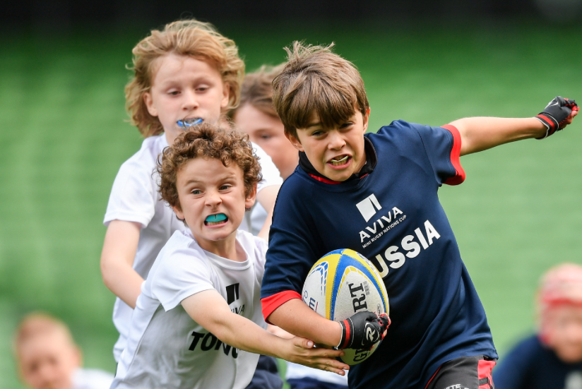 tralees young rugby stars line out at aviva stadium