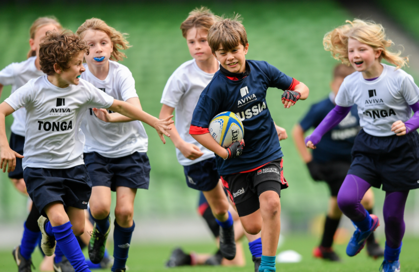 tralees young rugby stars line out at aviva stadium2